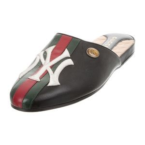 Gucci Shoes - Authentic 2019 Gucci New York Yankee Mules